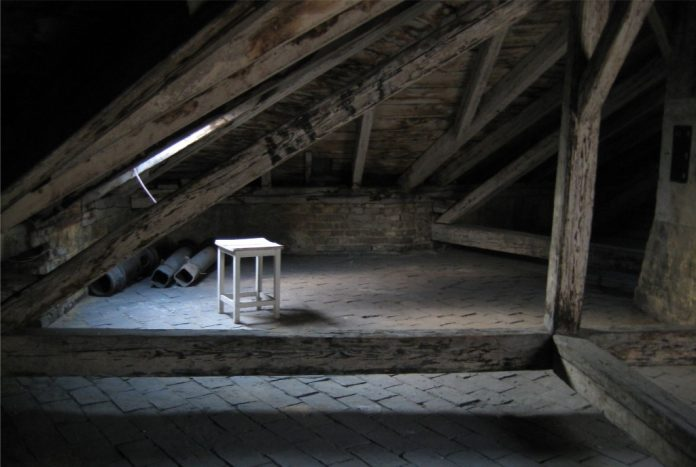 There's A Ghost In My Attic
