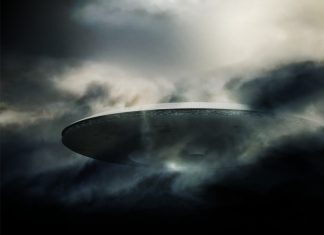 UFO in Rainelle, West Virginia